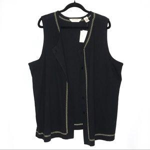 Bechamal II • Button Down Vest